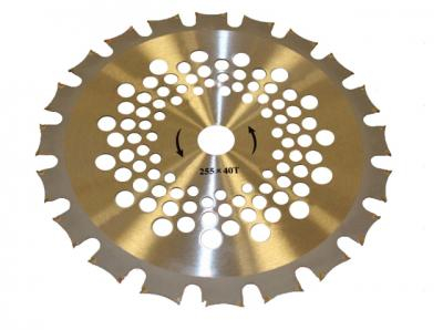 Disc taietor 40T - vidia dublu - 255 x 25.4mm (MC) [0]