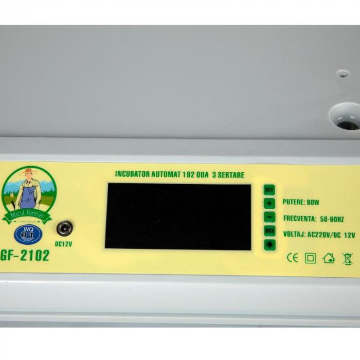 Incubator automat 192 oua 3 sertare [4]