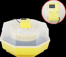 Incubator Electric Cleo-5 cu Termohigrometru si Dispozitiv Intoarcere Oua [0]