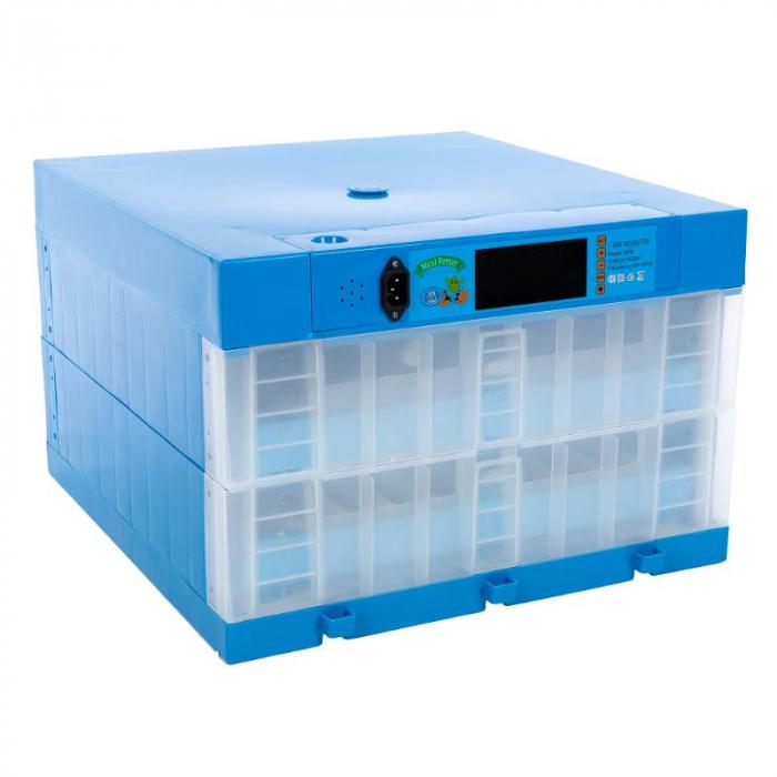 Incubator automat cu 2 etaje 128 oua gaina [0]