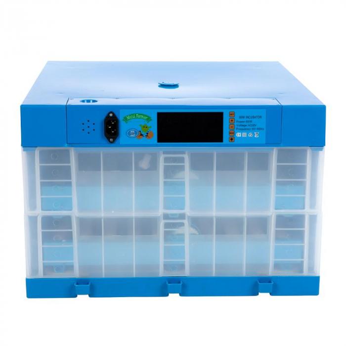 Incubator automat cu 2 etaje 128 oua gaina [5]