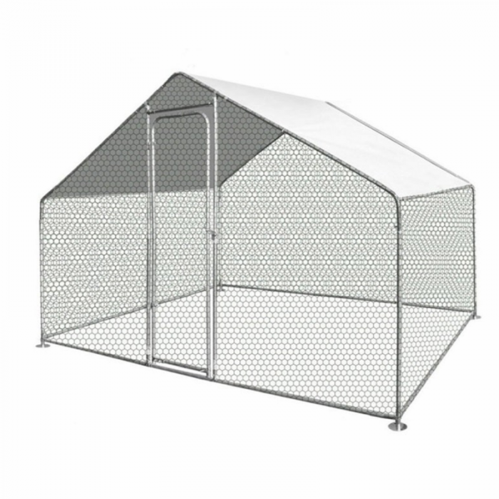 Cotet (tarc) pasari 3x2x1.95m otel galvanizat [0]