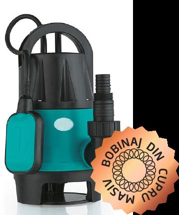 Pompa submersibila-apa murdara- BLADE QDP-400-F PRO - 400W, 8000 l/h [0]