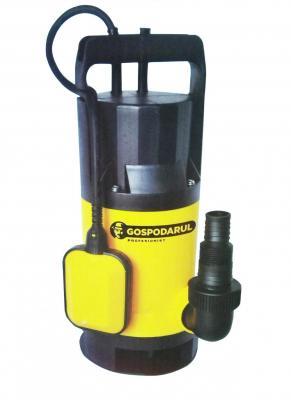 Pompa submersibila apa murdara GOSPODARUL PROFESIONIST QDP-550-F - 400w, 8000 l/h [0]