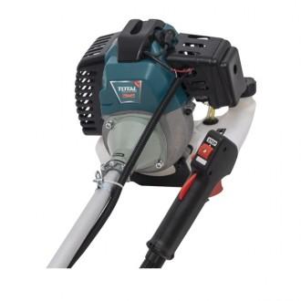 Motocoasa pe benzina TOTAL 45cc - benzina, 2 CP, 45cc, 10000rpm [2]