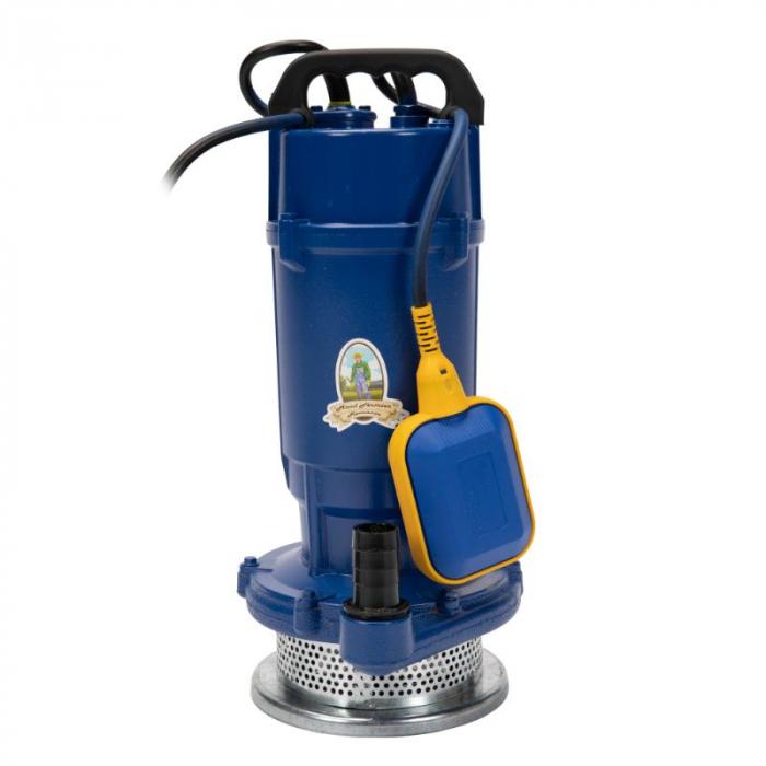 Pompa apa submersibila 750w, 32m, 1500l/h , MICUL FERMIER QDX-32M cu flotor [0]