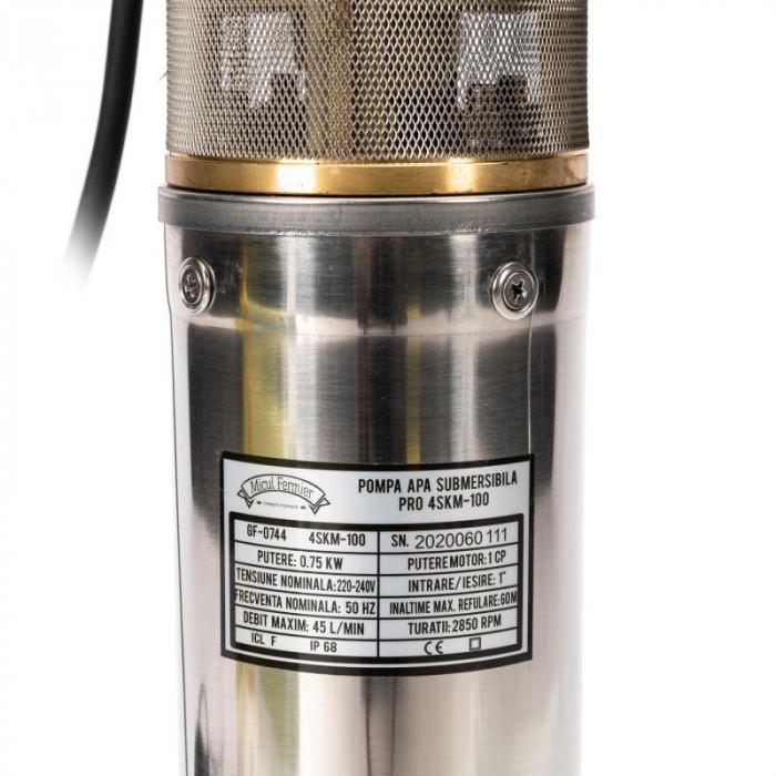 Pompa submersibila 65m PRO 4SKM-100 MF 2.7mc/h [6]