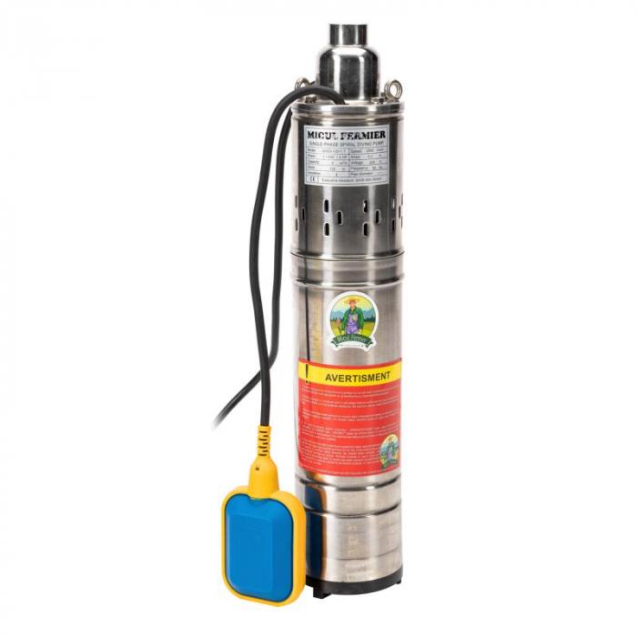 Pompa submersibila MICUL FERMIER QGD3 1100w 120m cu flotor [0]