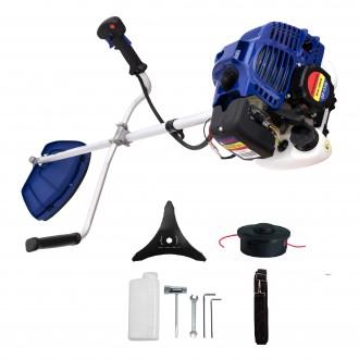 Motocoasa Micul Fermier Albastra cu 3 accesorii 2.5kw 3.4CP [1]
