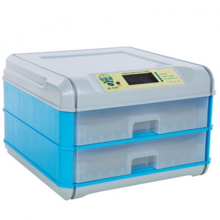 Incubator automat 128 oua 2 sertare [0]