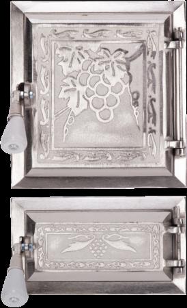 Usa Soba cu Cenusar Struguri Nichelata 275x140x255 mm [0]