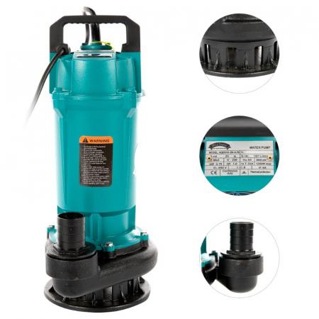 Pompa apa submersibila QDX10-20M 0.75KW 1.5 toli [1]
