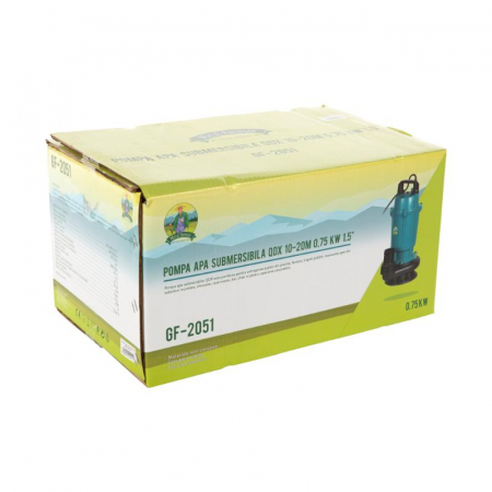 Pompa apa submersibila QDX10-20M 0.75KW 1.5 toli [5]