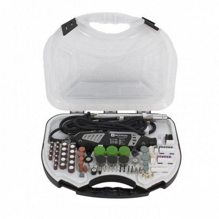 Set Gravor Elprom EMG-450-211, 450 W, 30000 rpm, 211 piese + Prelungitor flexibil [0]