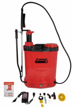 Pompa de stropit 2 in 1 ELEFANT, manuala si electrica [0]