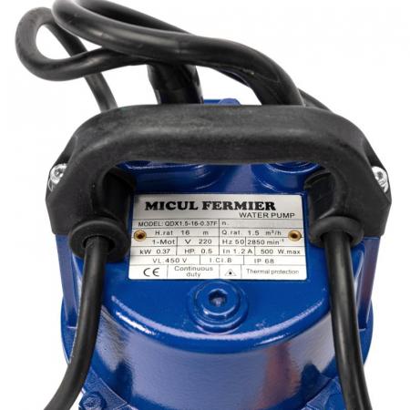 Pompa submersibila MICUL FERMIER QDX 370W 16m cu flotor [2]