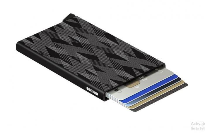 Portcard Laser ZigZag Black-big