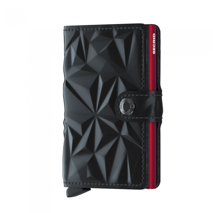 Miniportofel Prism Black Red-big