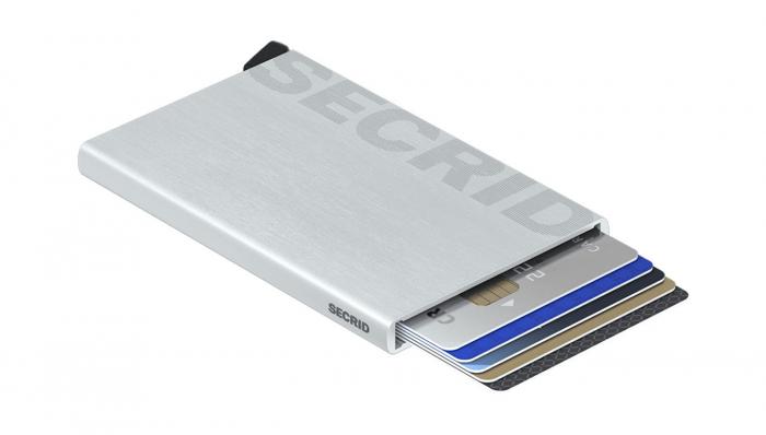 Portcard Laser Logo Brushed Silver-big