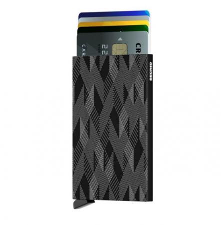 Portcard Laser ZigZag Black1