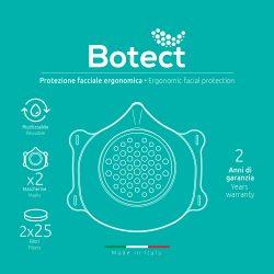 Masca de protectie cu filtru ( 2 masti + 50 filtre) BOTECT5