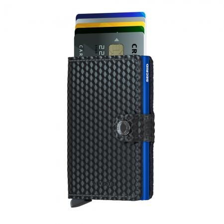 Miniportofel Cubic Black Blue1