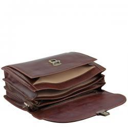 Servieta Piele Taormina Tuscany Leather1