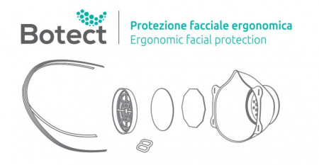 Set filtre pentru masca de protectie BOTECT3