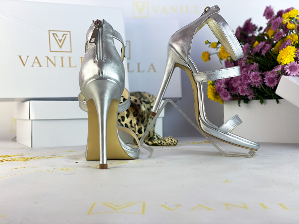 34   Sandale Cairo Argintiu Promo 2