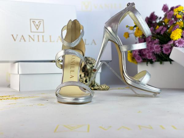 34   Sandale Cairo Argintiu Promo 1