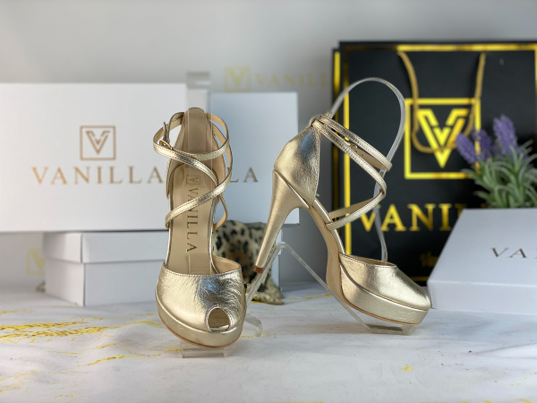 34 Sandale Fabiana Elegance Gold  Promo 0
