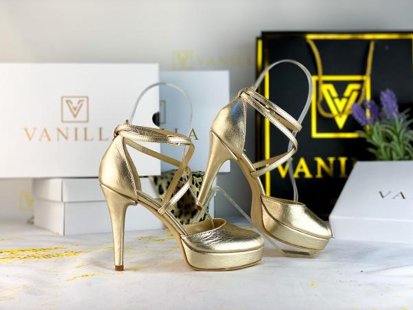 34 Sandale Fabiana Elegance Gold  Promo 1
