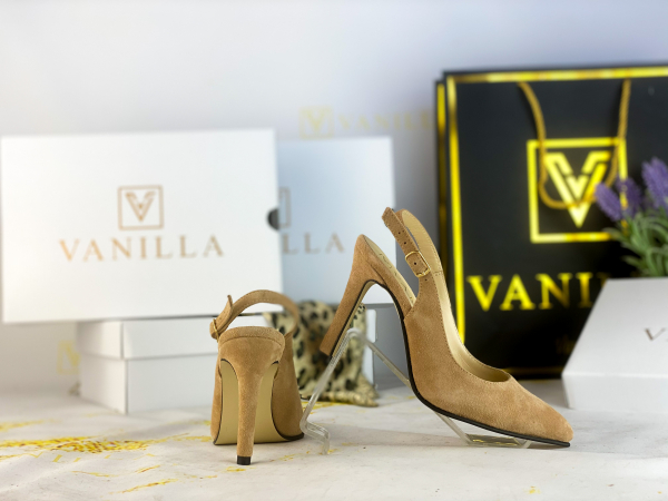 34 Stiletto Diana Piele Intoarsa Promo [0]