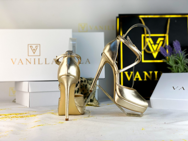 35 Sandale Fabiana Elegance Gold Promo 2