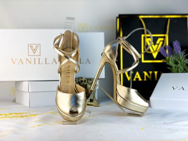 35 Sandale Fabiana Elegance Gold Promo 0
