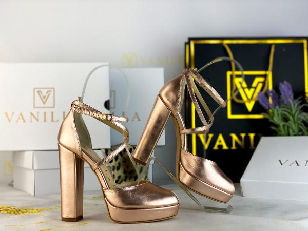 35 Sandale Fabiana Elegance Sampanie Promo [1]
