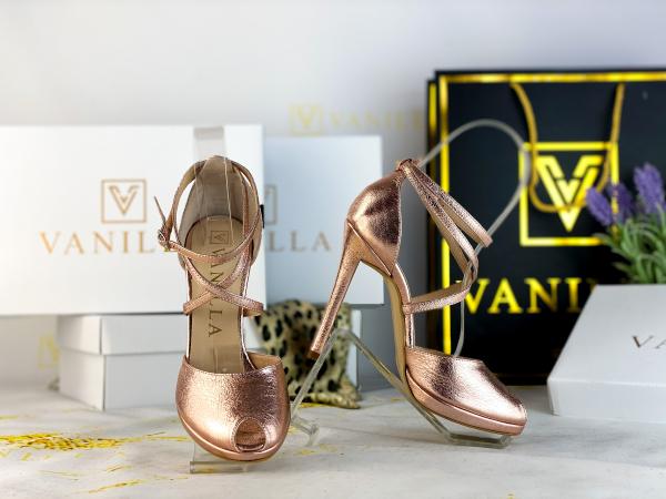 36 Sandale Fabiana Elegance Sampanie Promo [2]