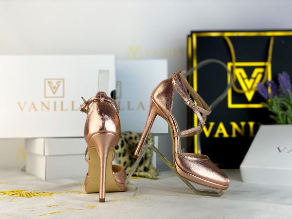 36 Sandale Fabiana Elegance Sampanie Promo [0]