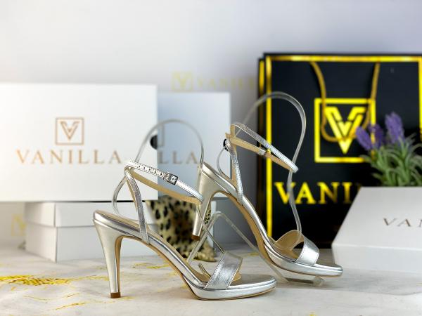 36   Sandale Paris Argintiu Nou Promo 1