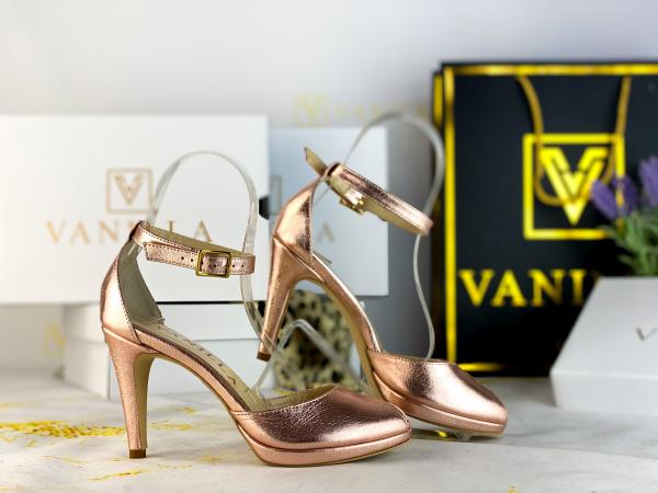 38 Sandale Beijing Sampanie Sifonata Toc Mic Promo 1