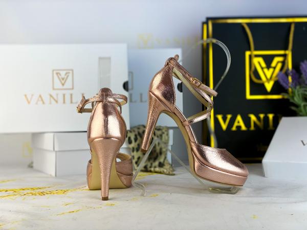 38 Sandale Fabiana Elegance Sampanie Promo 0
