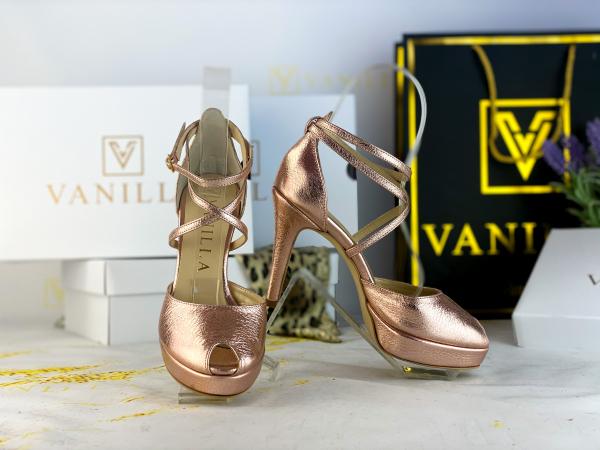 38 Sandale Fabiana Elegance Sampanie Promo 2