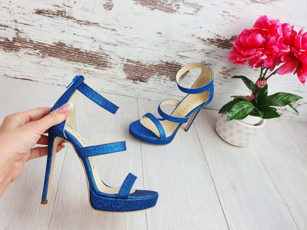 Sandale Cairo Blue Edittion 0