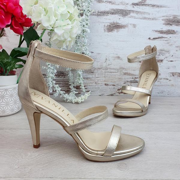 Sandale Cairo Auriu 2 Promo 0