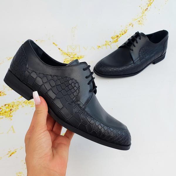 Pantofi Office  Monaco Croco 0