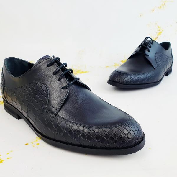 Pantofi Office  Monaco Croco 1