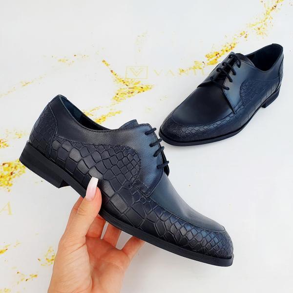 Pantofi Office  Monaco Croco 2