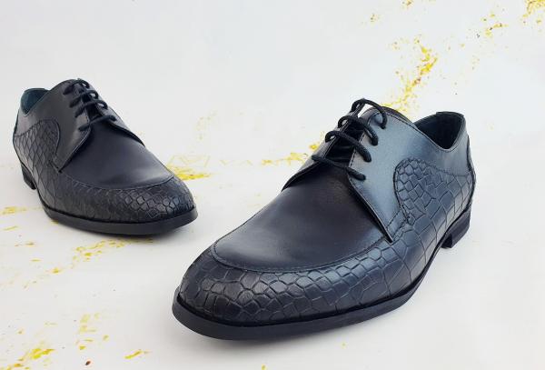 Pantofi Office  Monaco Croco 3