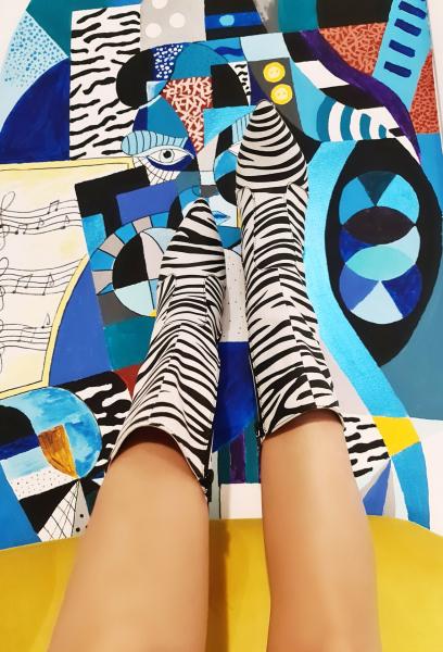 Cizme Teo Zebra 3