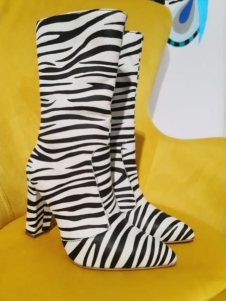 Cizme Teo Zebra 2